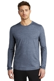 OGIO ENDURANCE Force Long Sleeve Tee Blue Indigo Heather Thumbnail
