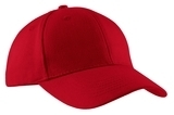 Brushed Twill Cap Red Thumbnail
