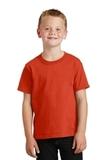 Youth 5.5-oz 100 Cotton T-shirt Orange Thumbnail