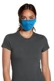 V.I.T. Shaped Face Mask 5 pack (100 packs 1 Case) Heather Bright Turquoise Thumbnail