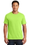 50/50 Cotton / Poly T-shirt Neon Green Thumbnail