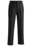 Men's Poly / Wool Flat Front Pant Charcoal Thumbnail