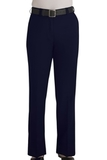 Women's Flat Front 100 Polyester Security Pants Dark Navy Thumbnail