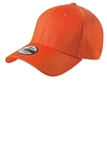 New Era Structured Fitted Cotton Cap Orange Thumbnail