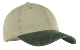 2-tone Pigment-dyed Cap Khaki with Hunter Thumbnail