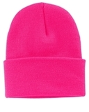 Knit Cap Neon Pink Glo Thumbnail