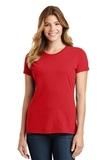 Women's Port & Company Fan Favorite Tee Bright Red Thumbnail