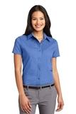 Women's Short Sleeve Easy Care Shirt Ultramarine Blue Thumbnail