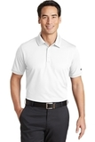 Nike Golf Dri-FIT Solid Icon Pique Modern Fit Polo White Thumbnail