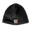 Carhartt Fleece Hat Black Thumbnail