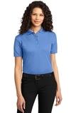 Women's Dry Zone Ottoman Polo Shirt Blue Lake Thumbnail