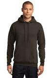 7.8-oz Pullover Hooded Sweatshirt Dark Chocolate Brown Thumbnail
