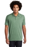 Tri-Blend Wicking Polo Forest Green Heather Thumbnail