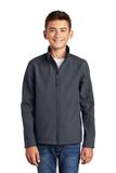 Youth Core Soft Shell Jacket Battleship Grey Thumbnail