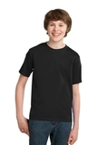 Youth Essential T-shirt Jet Black Thumbnail