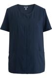Edwards Ladies' Scoop Neck Spun Poly Tunic Bright Navy Thumbnail
