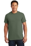 Ultra Cotton 100 Cotton T-shirt Military Green Thumbnail