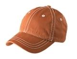 Thick Stitch Cap Burnt Orange with Stone Thumbnail