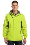 Cascade Waterproof Jacket Charge Green with Magnet Thumbnail