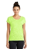 Women's Electric Heather Sporty Tee Lime Shock Electric Thumbnail