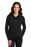 Women's Value Fleece Vest Black Thumbnail