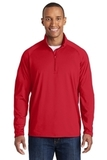 Tall Sport-wick Stretch 1/2-zip Pullover True Red Thumbnail