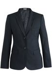 Redwood & Ross Signature Ladies Single Breasted Poly/wool Suit Coat Navy Thumbnail