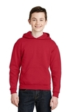 Youth Pullover Hooded Sweatshirt True Red Thumbnail