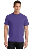 50/50 Cotton / Poly T-shirt Purple Thumbnail