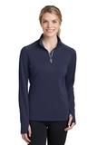 Women's Textured 1/4-Zip Pullover True Navy Thumbnail