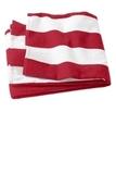 Cabana Stripe Beach Towel Red Thumbnail
