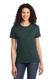 Women's Essential T-shirt Dark Green Thumbnail