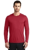 OGIO ENDURANCE Long Sleeve Pulse Crew Ripped Red Thumbnail