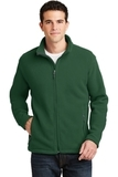 Value Fleece Jacket Forest Green Thumbnail
