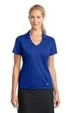 Women's Nike Golf Dri-FIT Vertical Mesh Polo Old Royal Thumbnail