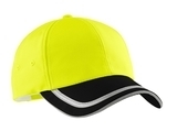 Safety Cap Safety Yellow with Black Thumbnail