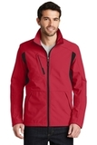 BackBlock Soft Shell Jacket Rich Red with Black Thumbnail