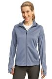 Women's Sport-tek Tech Fleece Full-zip Hooded Jacket Grey Heather Thumbnail