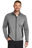 Eddie Bauer Full-Zip Heather Stretch Fleece Jacket Grey Heather Thumbnail