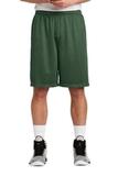 Sport-tek Long Posicharge Classic Mesh Short Forest Green Thumbnail