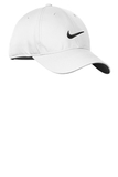 Nike Golf Dri-fit Swoosh Front Cap White with Black Thumbnail