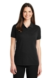 Women's EZ-Cotton Polo Black Thumbnail