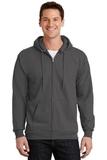 Full-zip Hooded Sweatshirt Charcoal Thumbnail