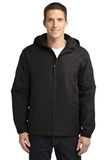Hooded Charger Jacket True Black Thumbnail