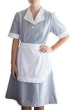 Junior Cord Housekeeping Dress Navy Thumbnail