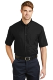 Short Sleeve Superpro Twill Shirt Black Thumbnail
