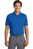 Nike Golf Dri-FIT Smooth Performance Modern Fit Polo Gym Blue Thumbnail
