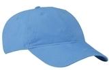 Brushed Twill Low Profile Cap Carolina Blue Thumbnail