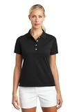 Women's Nike Golf Shirt Tech Basic Dri-FIT Polo Black Thumbnail