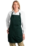 Full Length Apron With Pockets Hunter Thumbnail